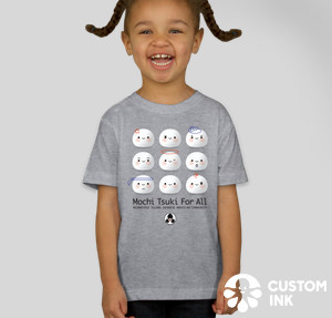 T-Shirt Mochi Toddler