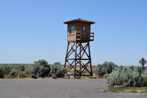 Minidoka Guard Tower